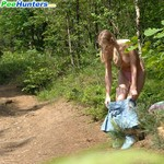 Porn Pictures - PeeHunters.com - Babes Pissing Outside